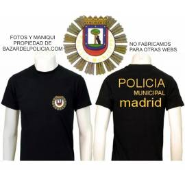 CAMISETA POLICIA LOCAL MADRID