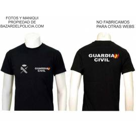 CAMISETA GUARDIA CIVIL GENERICA BLANCA