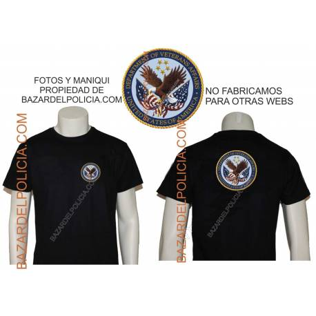 CAMISETA WARNING TO VETERANS