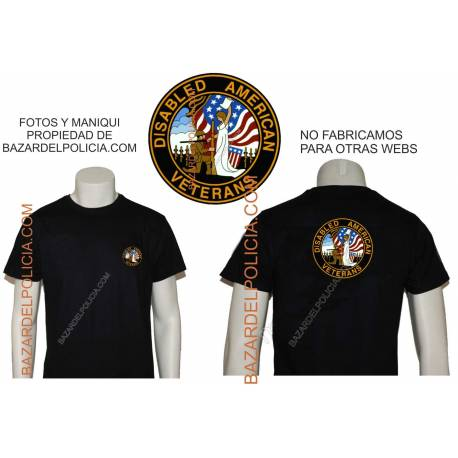 CAMISETA DISABLED AMERICAN VETERANS