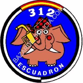 ADHESIVO 312 ESCUADRON