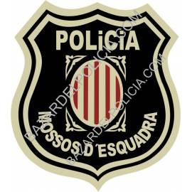 ADHESIVO POLICIA AUTONOMICA MOSSOS D´ESQUADRA