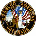 ADHESIVO DISABLED AMERICAN VETERANS