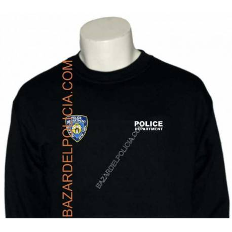 SUDADERA POLICE DEPARTMENT NEW YORK