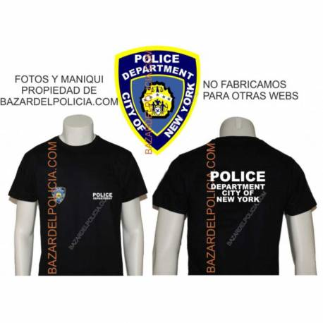 CAMISETA POLICE DEPARTMENT NEW YORK
