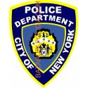 ADHESIVO POLICE DEPARTMENT NEW YORK
