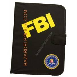 PORTADOCUMENTOS CON EL EMBLEMA FBI
