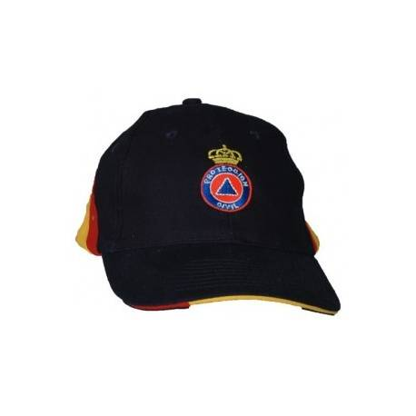 GORRA BORDADA PROTECCION CIVIL