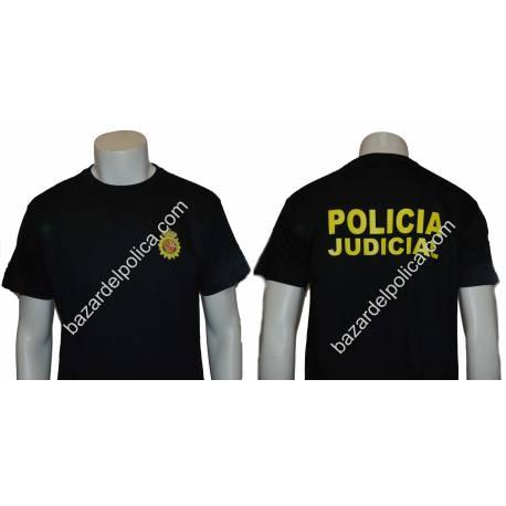 CAMISETA CUERPO NACIONAL POLICIA JUDICIAL