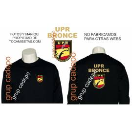 SUDADERA UPR BRONCE (UNIDAD PREVENCION Y REACCION)