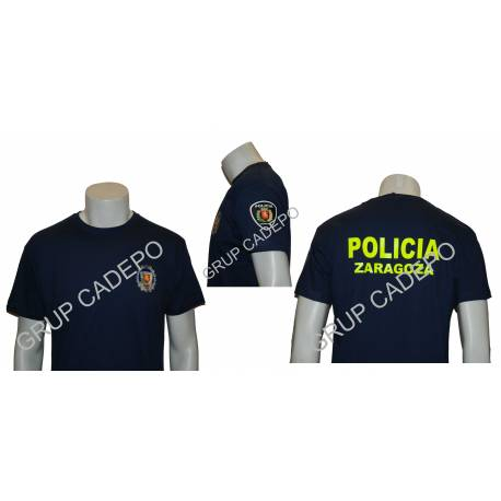 CAMISETA POLICIA LOCAL ZARAGOZA