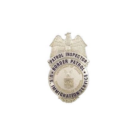 """PLACA INSPECTOR POLICIA SERVICIO INMIGRACIГ""""N ESTADOS UNIDOS"""