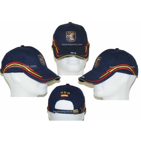 GORRA BORDDA  CON EL EMBLEMA DE LA GUARDIA CIVIL