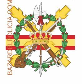 ADHESIVO EJERCITO ESPAÑOL LEGIÓN CUARTEL GENERAL