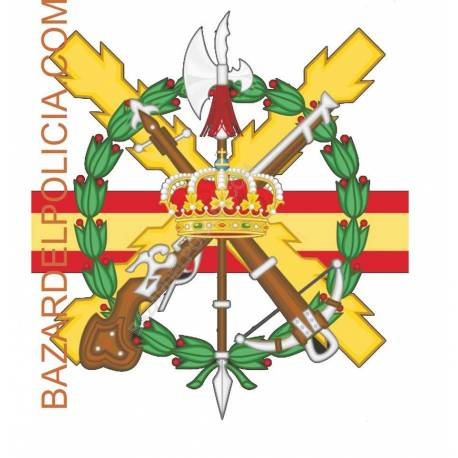 ADHESIVO EJERCITO ESPAÑOL MISION AFGANISTAN