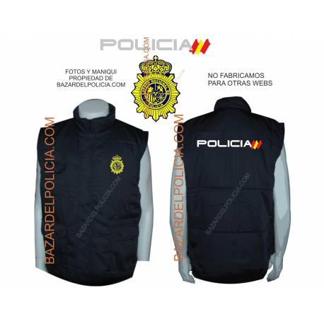 CHALECO POLICIA CIENTIFICA
