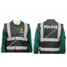 CHALECO REFLECTANTE POLICIA CNP