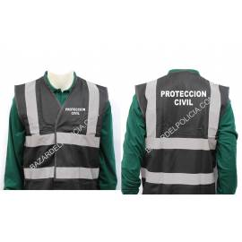 CHALECO REFLECTANTE PROTECCION CIVIL