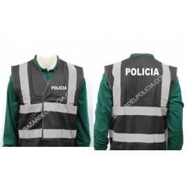 CHALECO REFLECTANTE POLICIA