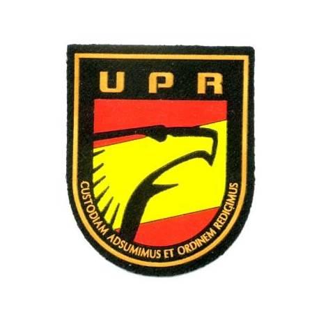 PARCHE POLICIA UPR