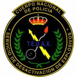 PARCHE POLICIA TEDAX