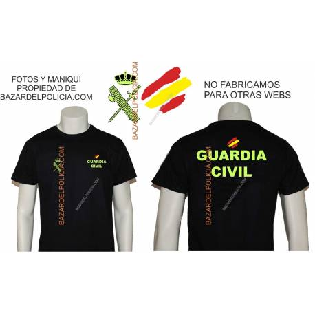 CAMISETA GUARDIA CIVIL GENERICA BANDERA