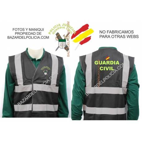 CHALECO REFLECTANTE G.C. POLICIA JUDICIAL
