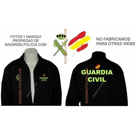 SUDADERA CON CREMALLERA CUERPO POLICIA NACIONAL