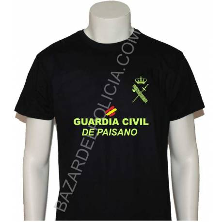 CAMISETA GUARDIA CIVIL PAISANO