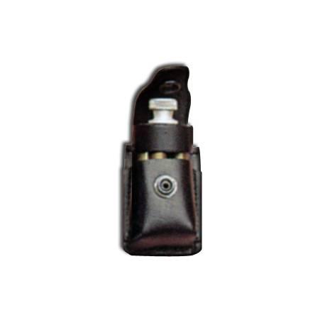 """Funda de cuero para inyector/cargador de revolver 38"""" Seg."""