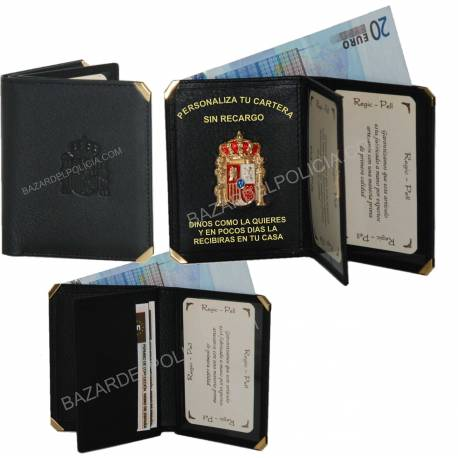 CARTERA LIBRO GUARDIA CIVIL PERSONALIZADA