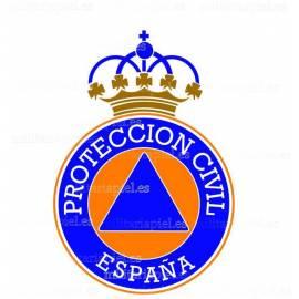 ADHESIVO PROTECCION CIVIL ESPAÑA
