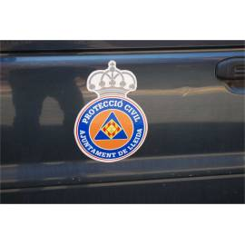 IMAN PROTECCION CIVIL COCHE