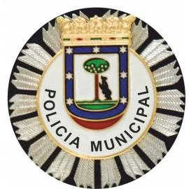 ADHESIVO POLICIA MUNICIPAL MADRID
