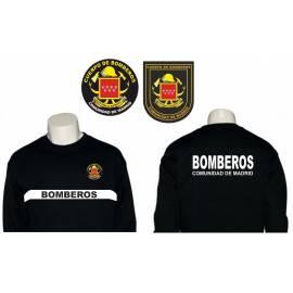 SUDADERA BOMBEROS COMUNIDAD DE MADRID