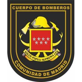 ADHESIVO BOMBEROS COMUNIDAD DE MADRID