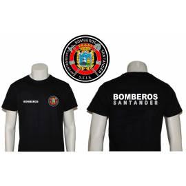 CAMISETA BOMBEROS SANTANDER