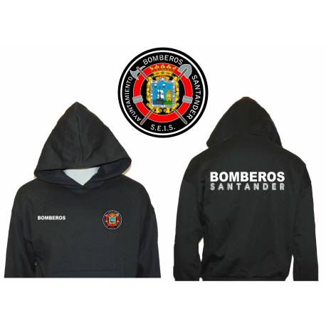 SUDADERA CON CAPUCHA BOMBEROS COMUNIDAD DE MADRID