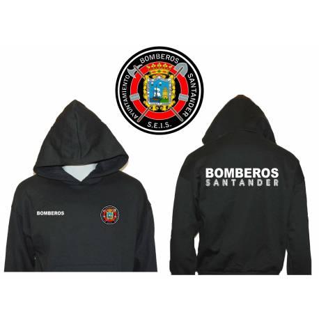SUDADERA CON CAPUCHA BOMBEROS SANTANDER