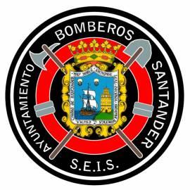 ADHESIVO CUERPO DE BOMBEROS SANTANDER