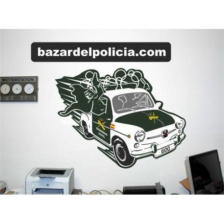 ADHESIVOS VINILO PARED GUARDIA CIVIL