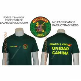 CAMISETA GUARDIA CIVIL GUÍAS CANINOS
