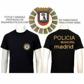 CAMISETA AGENTE DE MOVILIDAD MADRID
