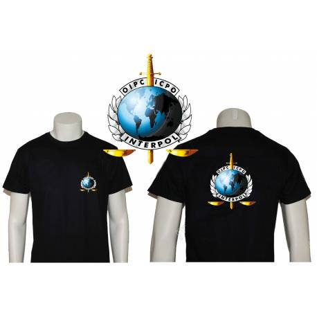 CAMISETA INTERPOL 2