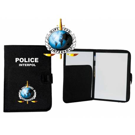 CARPETA PORTADOCUMENTOS INTERPOL