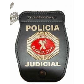 PORTAPLACAS GUARDIA CIVIL POLICIA JUDICIAL (PLACA INCLUIDA)