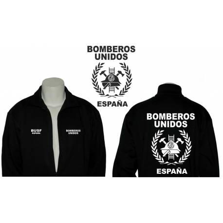 SUDADERA CRMALLERA BOMBEROS COMUNIDAD DE MADRID
