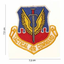 PARCHE BORDADO TACTICAL AIR COMMAND
