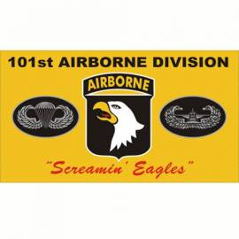 BANDERA AIRBORNE SCREAMING EAGLES