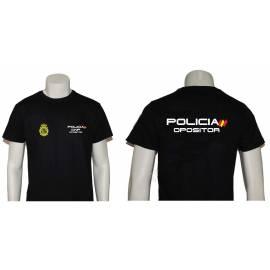 CAMISETA OPOSITOR POLICIA